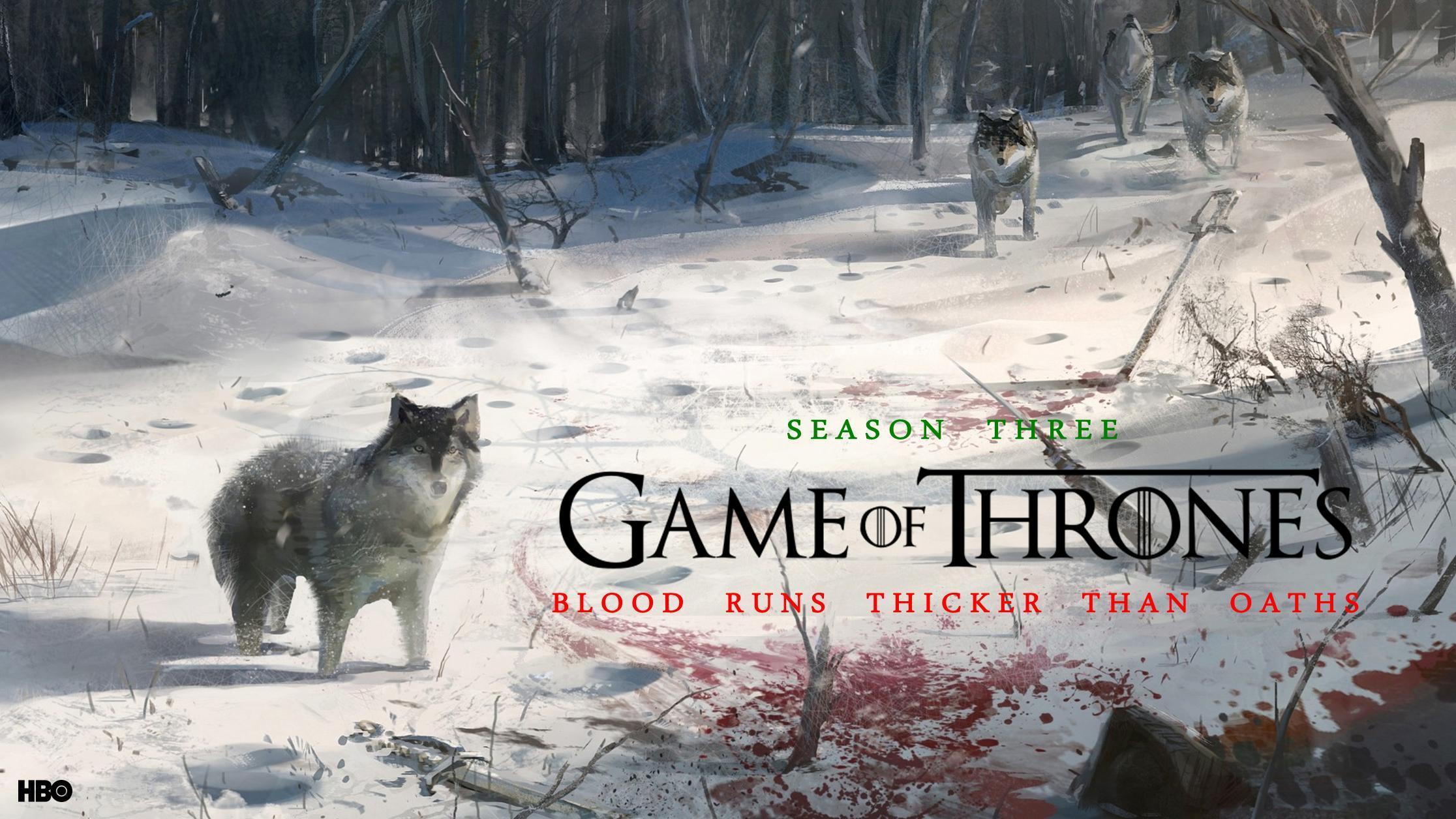 Game of Thrones Season 3 HD Wallpaper is a hi res Wallpaper 2232x1256
