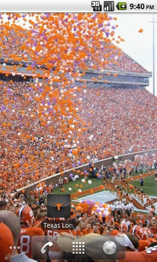 View bigger   Texas Longhorns Wallpapers for Android screenshot 307x512