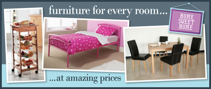 Furniture for every room at amazing from BM Bargains 710x300