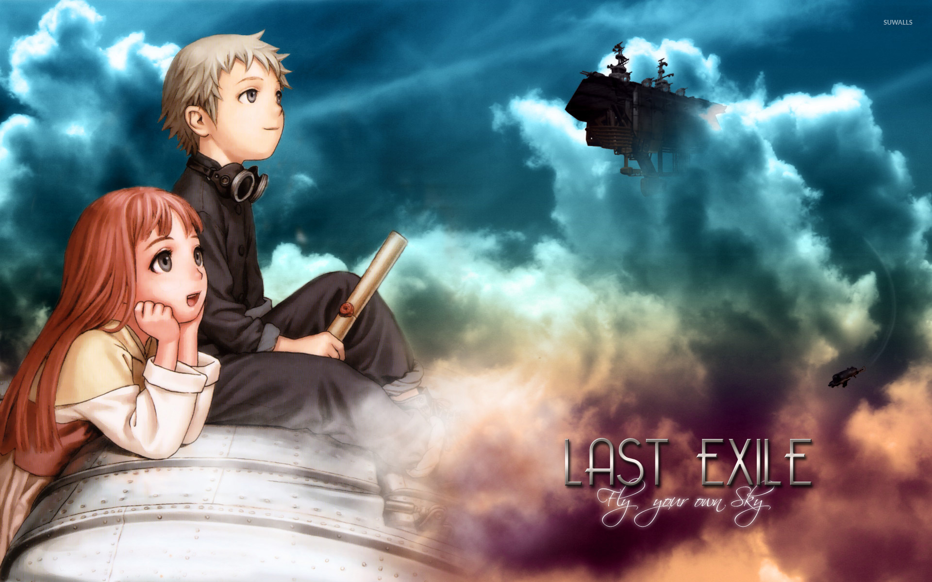 Last Exile wallpaper   Anime wallpapers   5847 1366x768