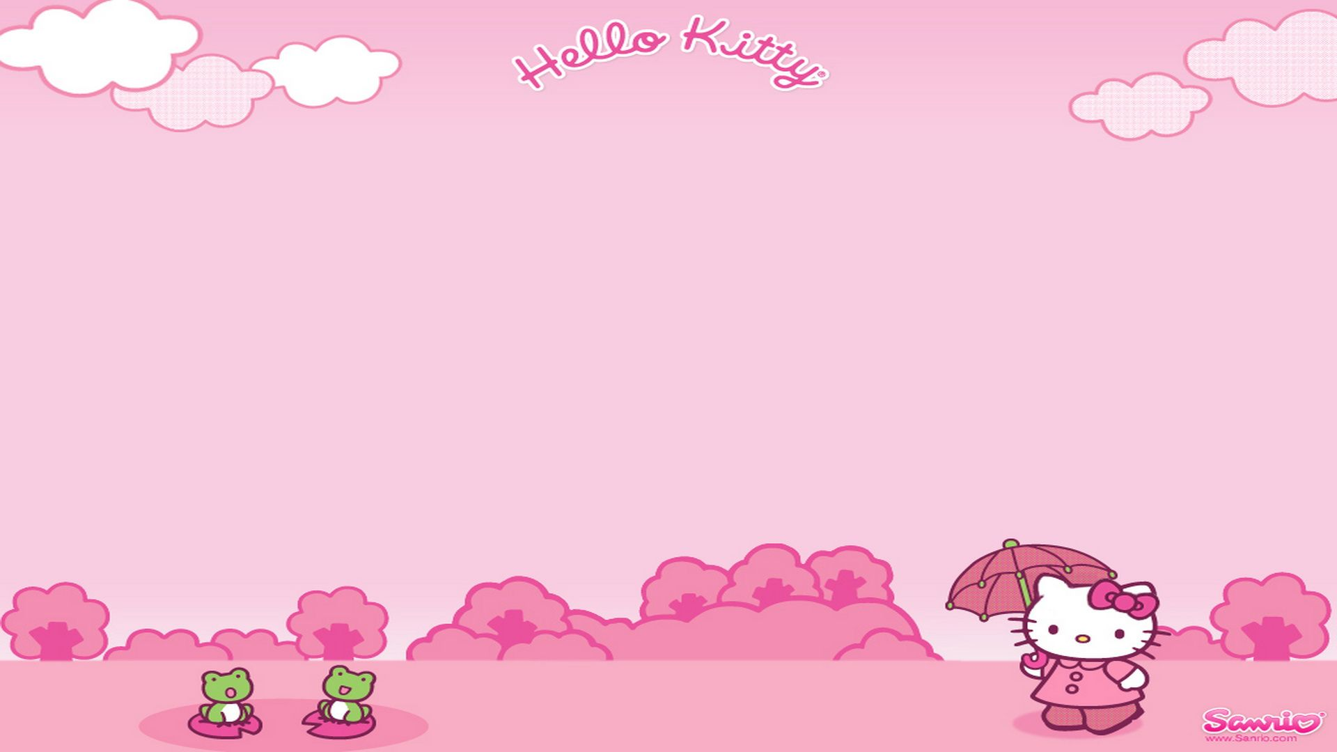 Hello Kitty pink free download Wallpaper | HD Wallpapers ...