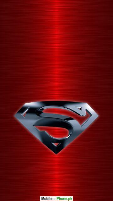 superman pink logo animated mobile wallpaperjpg 360x640