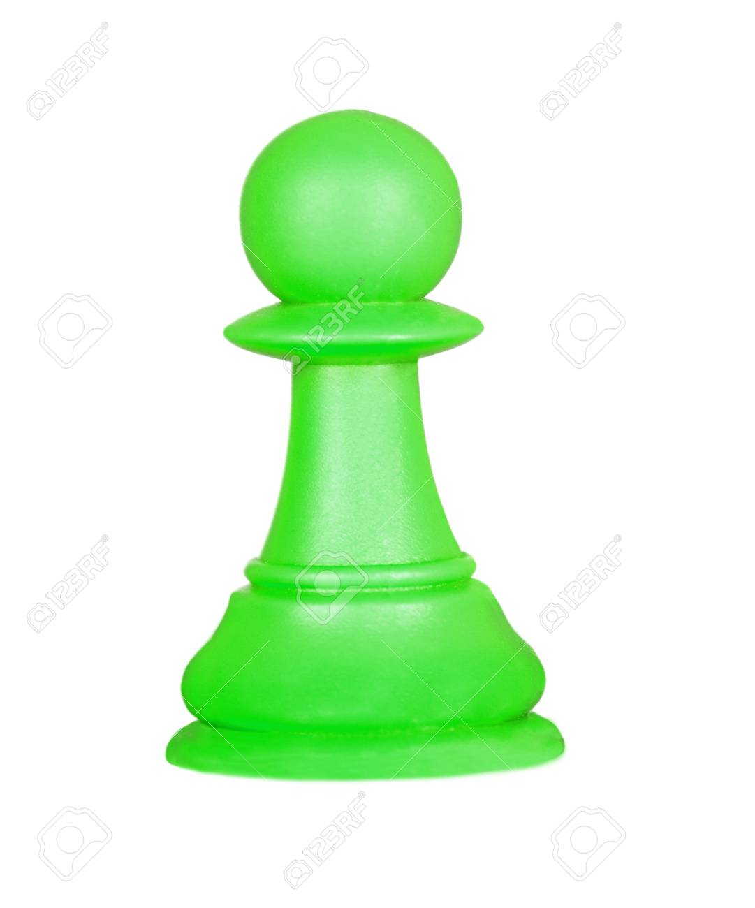 The Pawn Chess Piece Isolated On A White Background Stock Photo 1081x1300