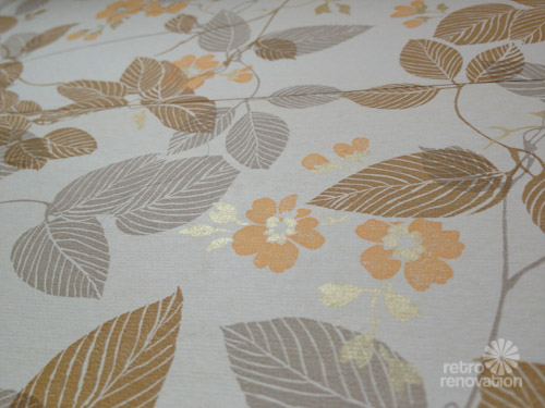 story of mine about How to Wallpaper a Room in Vintage Wallpaper 500x375