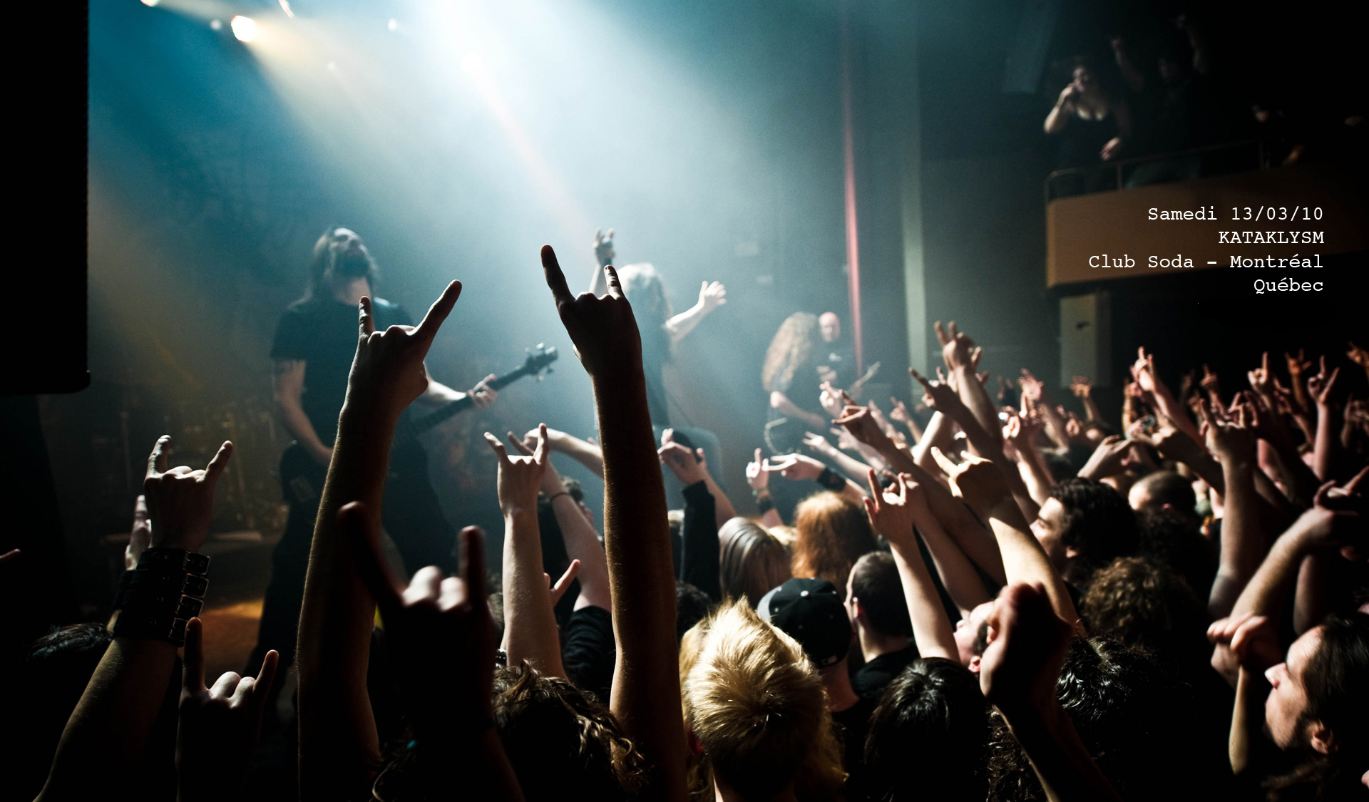 kataklysm death metal heavy hard rock concert concerts crowd wallpaper 1920x1125