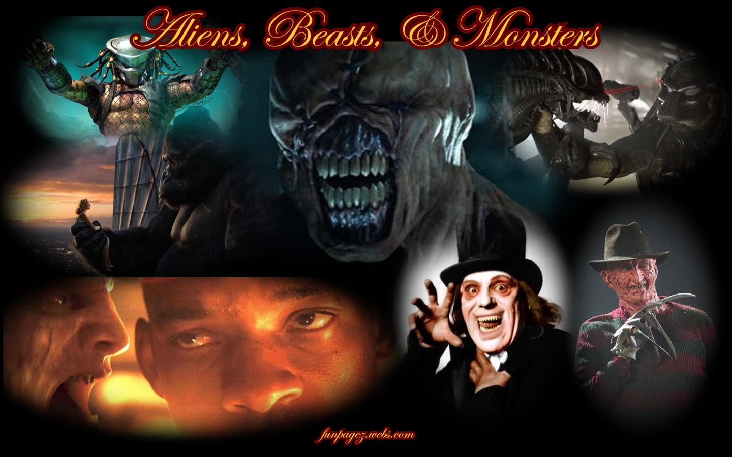 Classic Monsters Wallpaper wallpapers for your 1440x900
