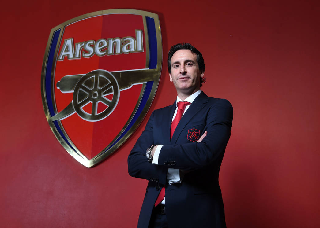 In pictures Emery at Emirates Stadium Gallery News Arsenalcom 1045x746