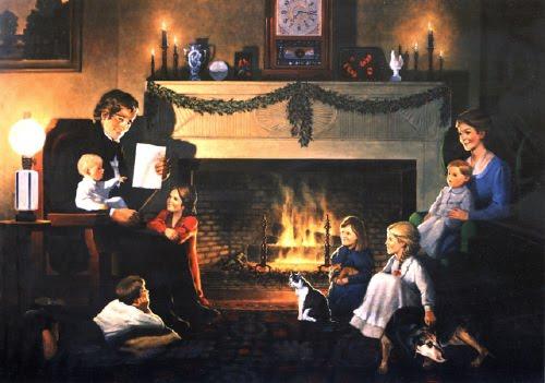 christmas desktop wallpaper Christmas Fireplace Desktop Wallpapers 500x351