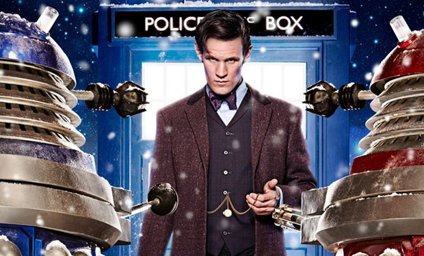 Time of the Doctor Matt Smith exclusive Radio Times desktop wallpaper 620x374