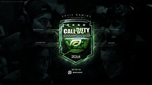 Optic Gaming Wallpaper Hd opticgaming this weekend 599x337