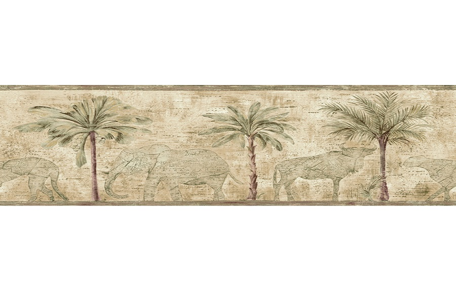 Wallpaper Borders For Bathrooms Palm Trees bathroom wallpaper borders 900x575