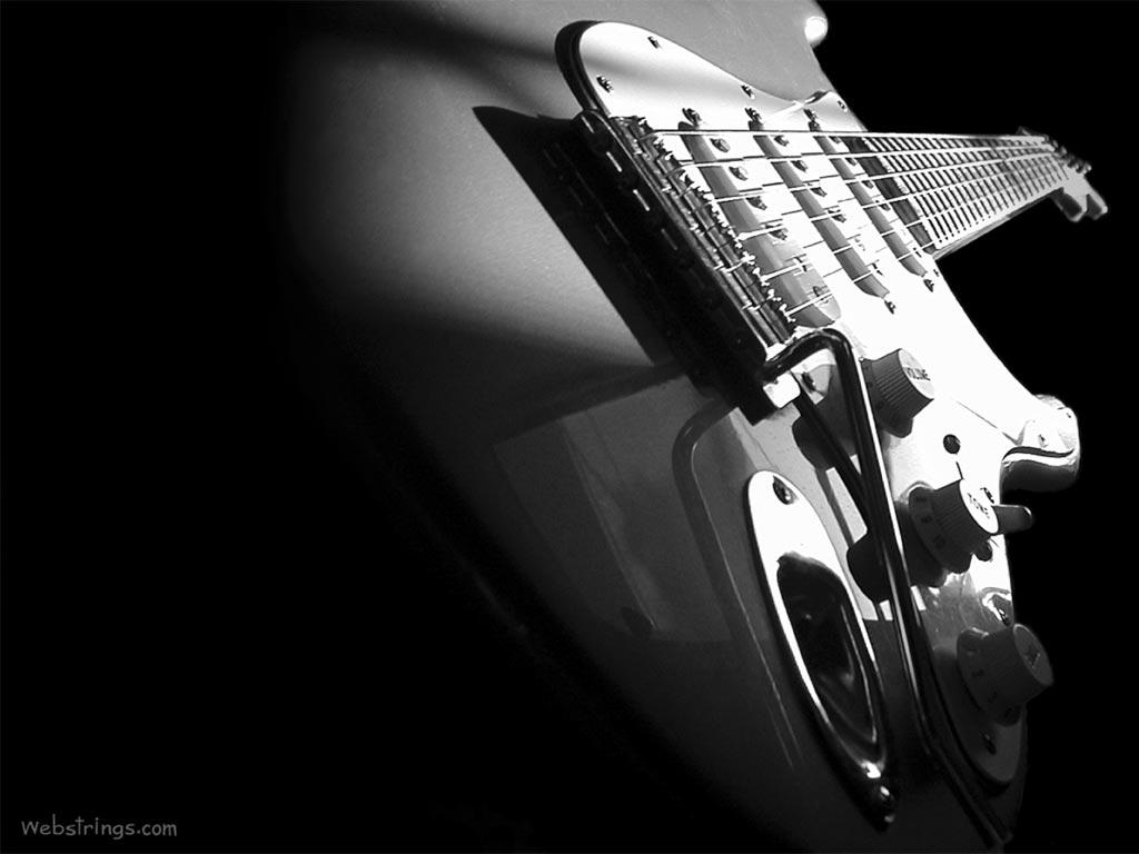 Fender Stratocaster Black and White Wallpaper HD Wallpaper HD Desktop 1024x768