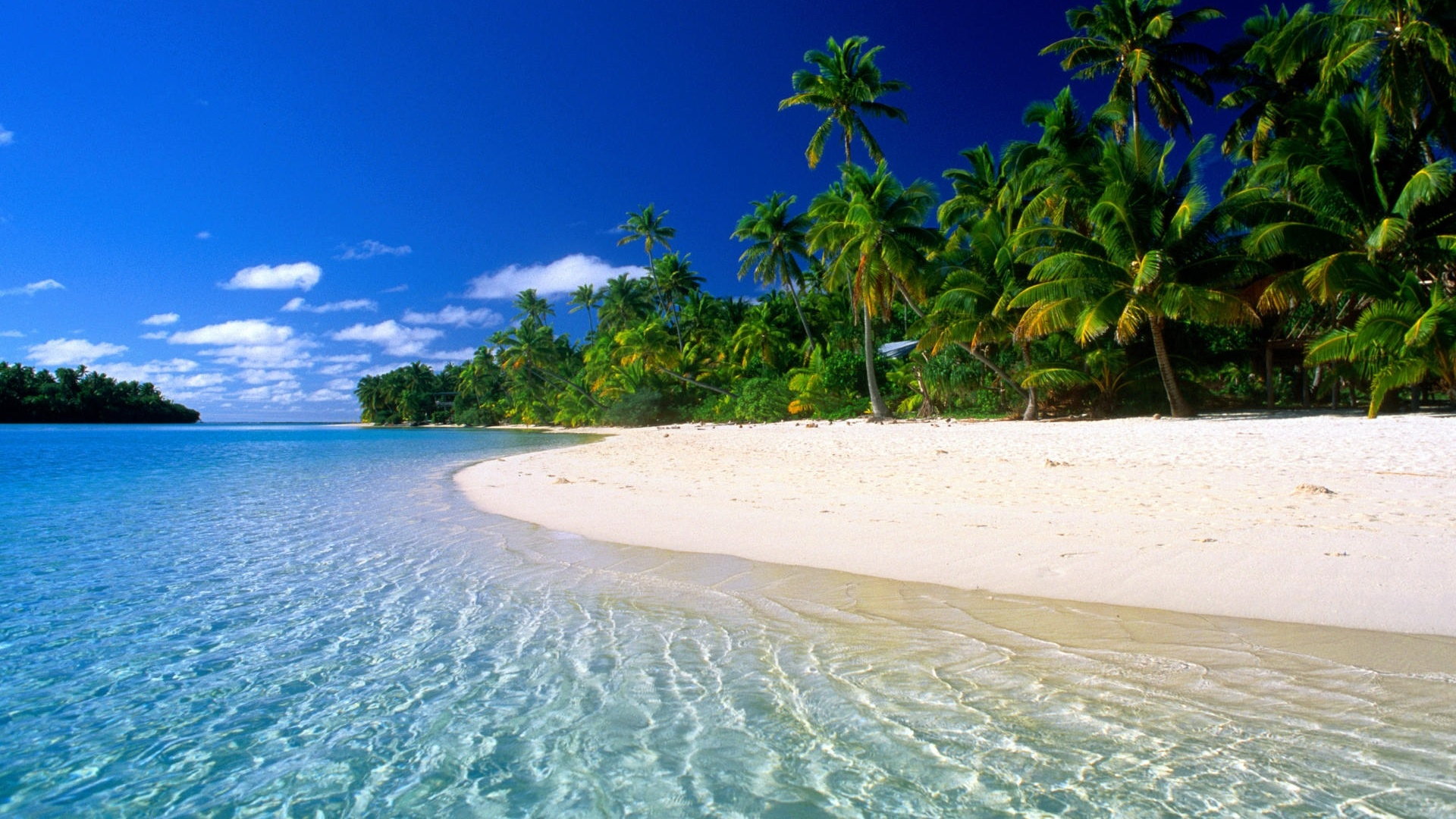 Beautiful Beach Scenes 1920x1080
