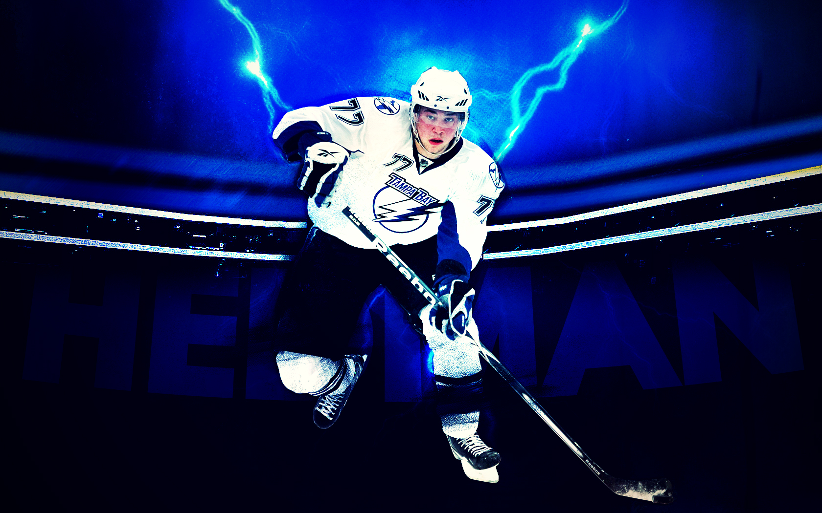 Tampa Bay Lightning to Feature Actual Lightning 1680x1050