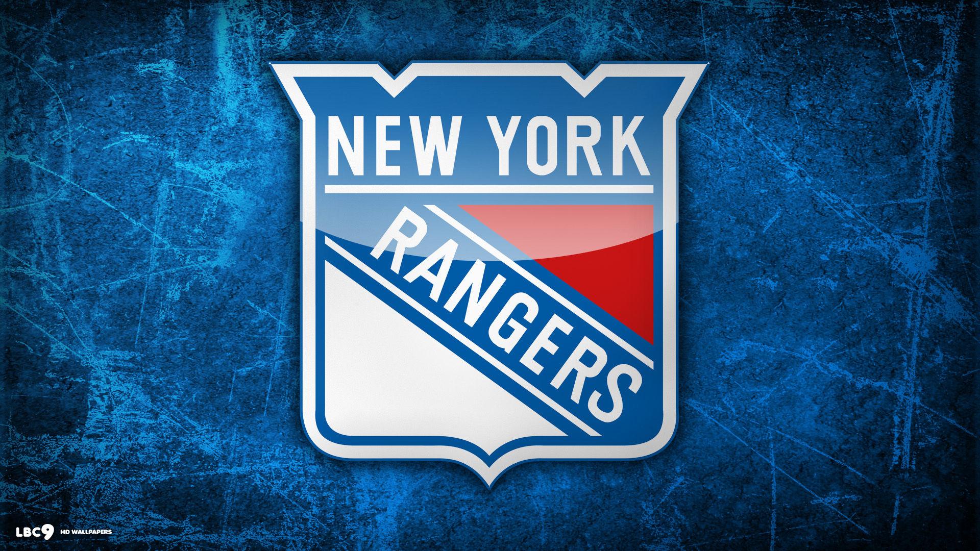New York NY Rangers Logo 1920x1080