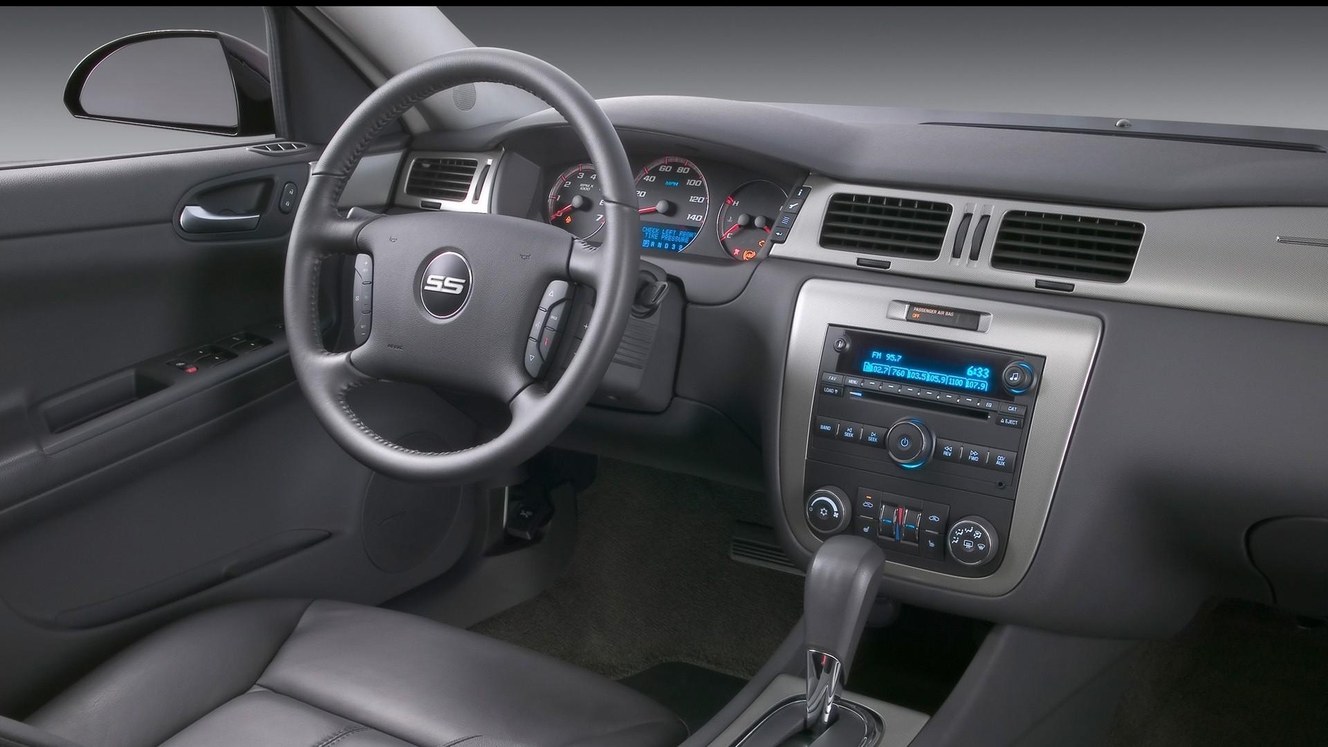Wallpapers cataloguecom   Chevrolet Impala SS 2009 interior 1920x1080