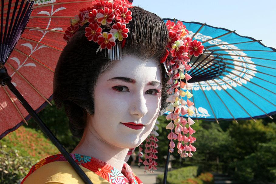 Geisha wallpaper   ForWallpapercom 909x606