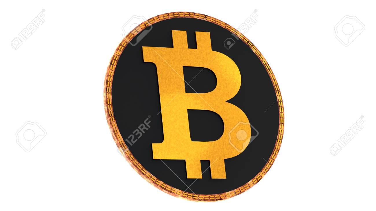 Bitcoin Isolated On White Background Domination Concept New 1300x731