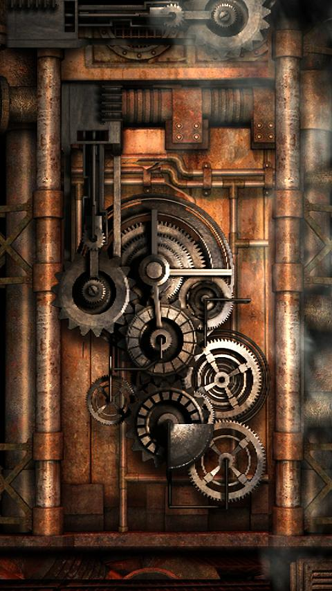 Live Wallpapers] Steampunk Live Wallpaper Gears   Live Wallpapers 480x854
