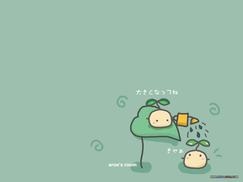 74 cute japanese wallpaper on wallpapersafari - Cute asian cartoon wallpaper ...