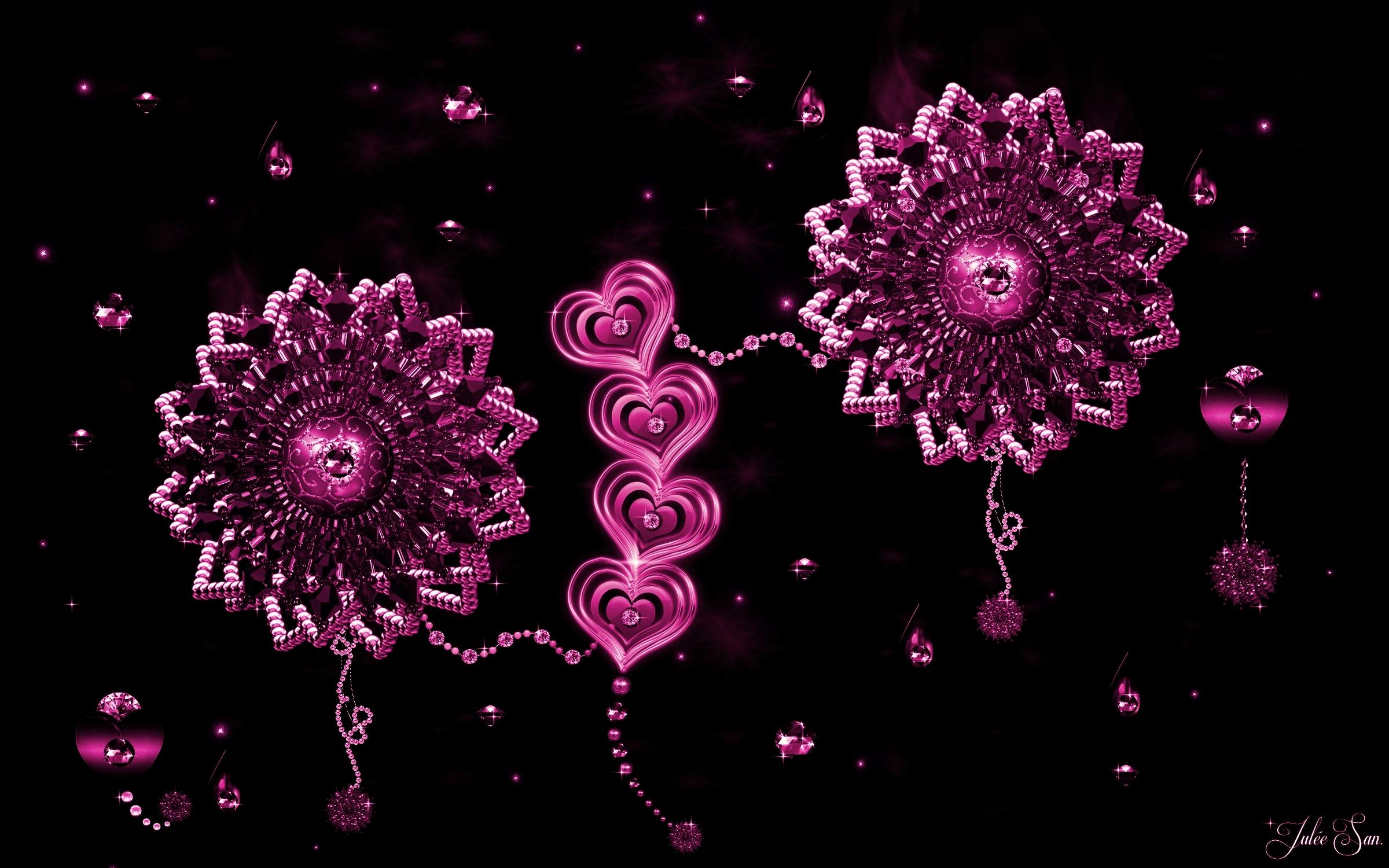 Love Pink Wallpaper Hd: Pink Love Wallpaper