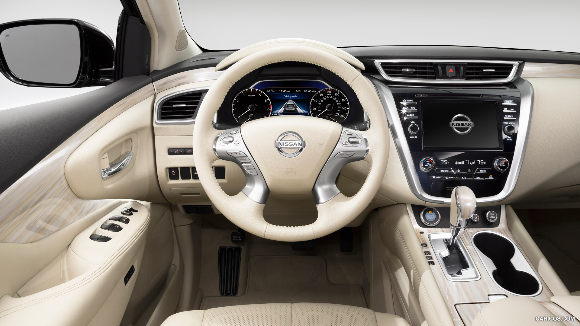 2015 Nissan Murano   Interior HD Wallpaper 13 1920x1080