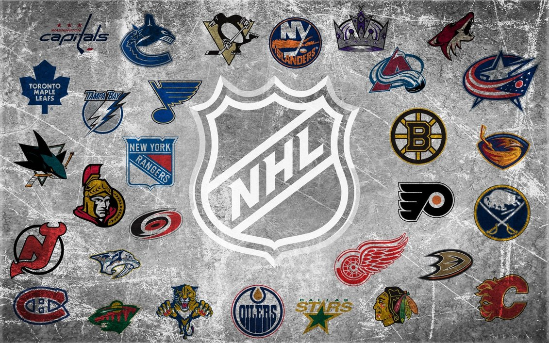 NHL Team Logo Wallpaper by 666Darks 1131x707