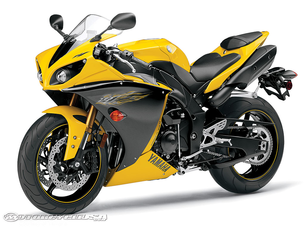 Top Motorcycle Wallpapers 2009 Yamaha R1 Wallpapers 1024x768