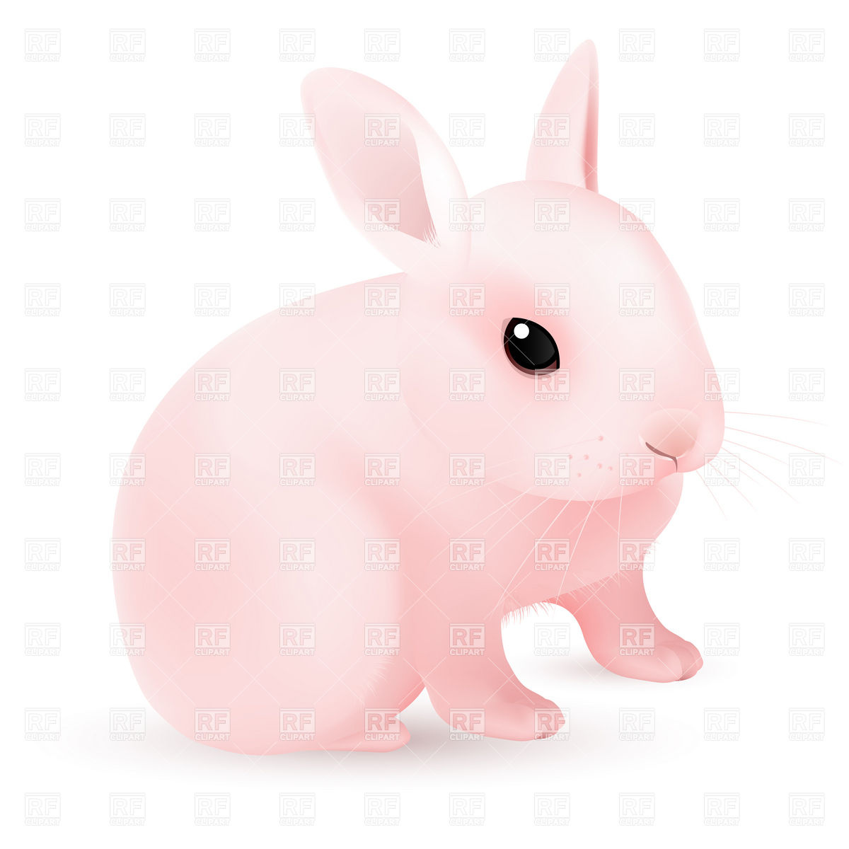 Free Download And Animals Pink Easter Bunny Download Royalty Free Vector Clipart 1200x1200 For Your Desktop Mobile Tablet Explore 46 Pink Bunny Wallpaper Baby Bunny Wallpaper Cute Bunnies Wallpaper