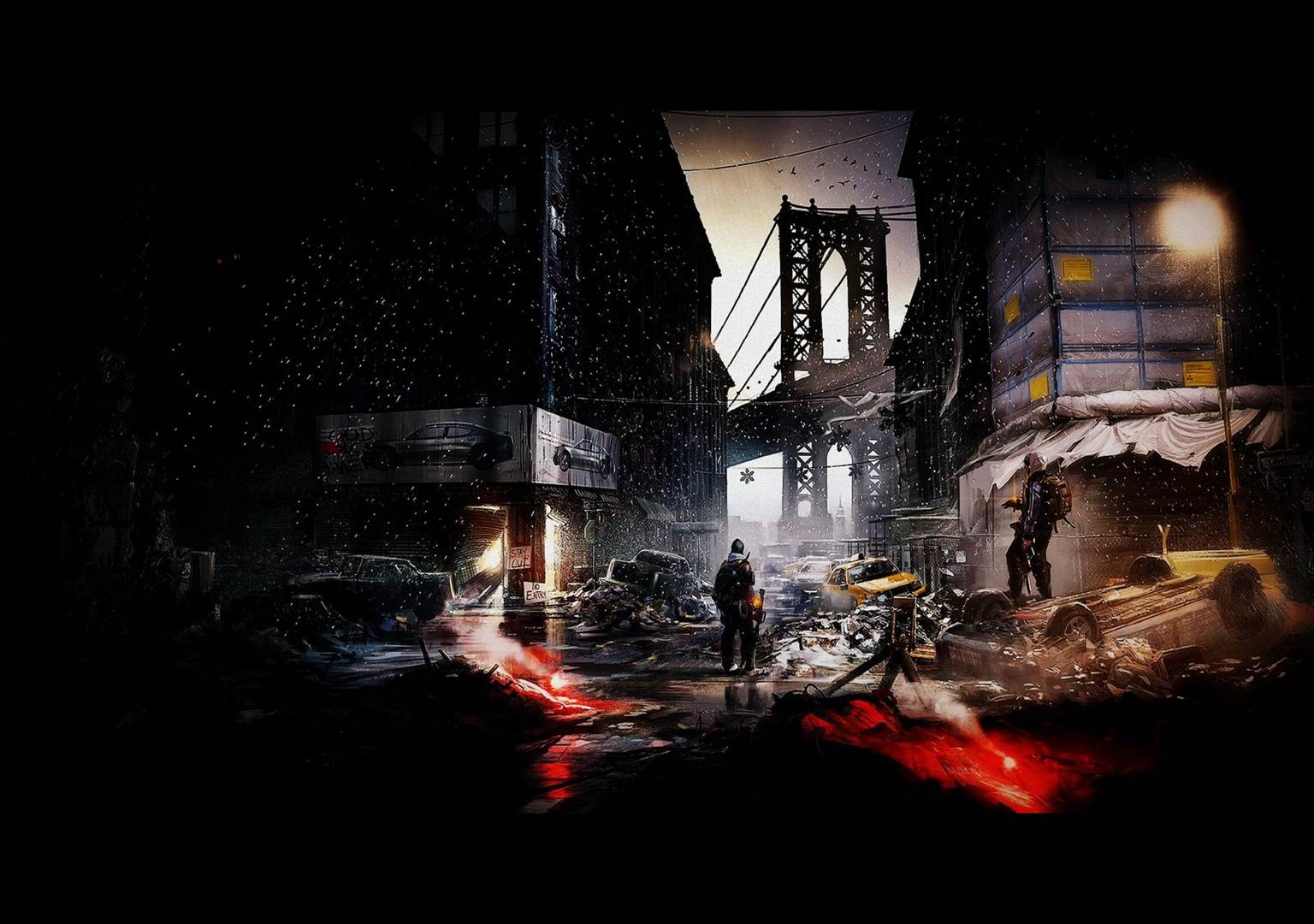 Tom Clancys The Division Wallpapers in 1080P HD GamingBoltcom 1536x1080