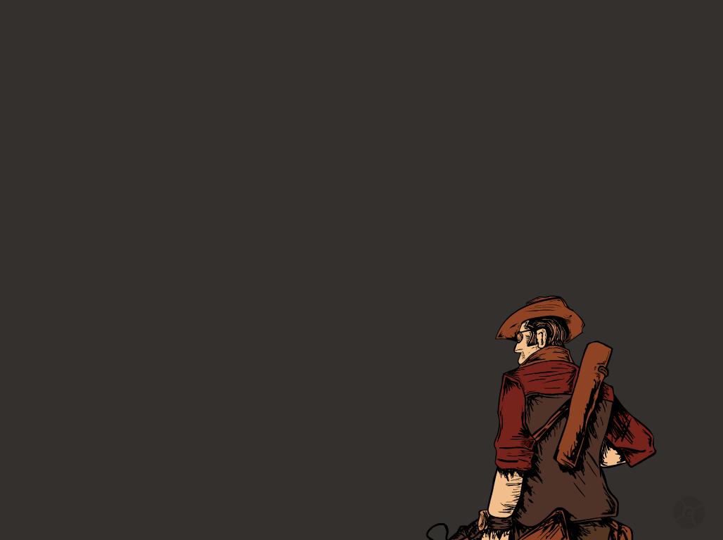 TF2 Sniper Wallpaper by CrisNMP 1028x768