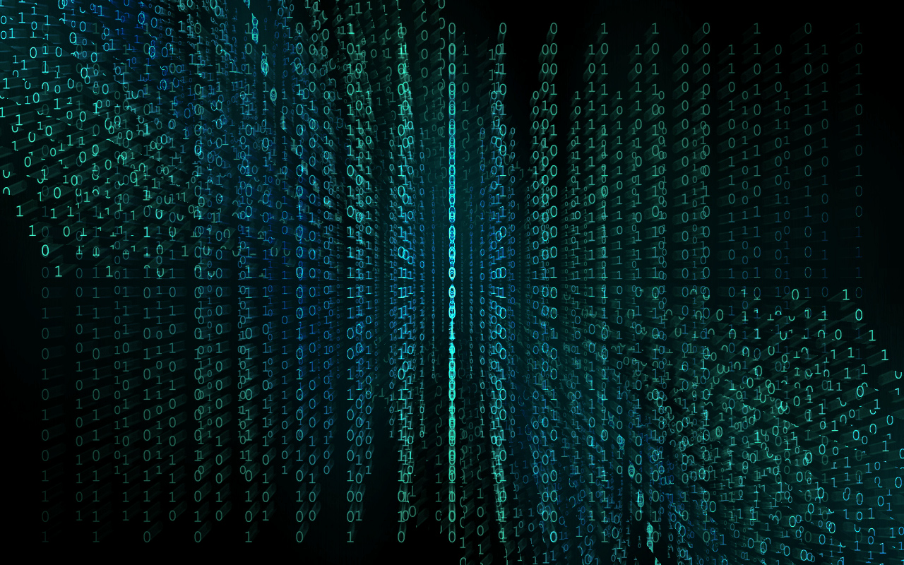 Binary Matrix Computer Wallpapers Desktop Backgrounds 1280x800 ID 1280x800