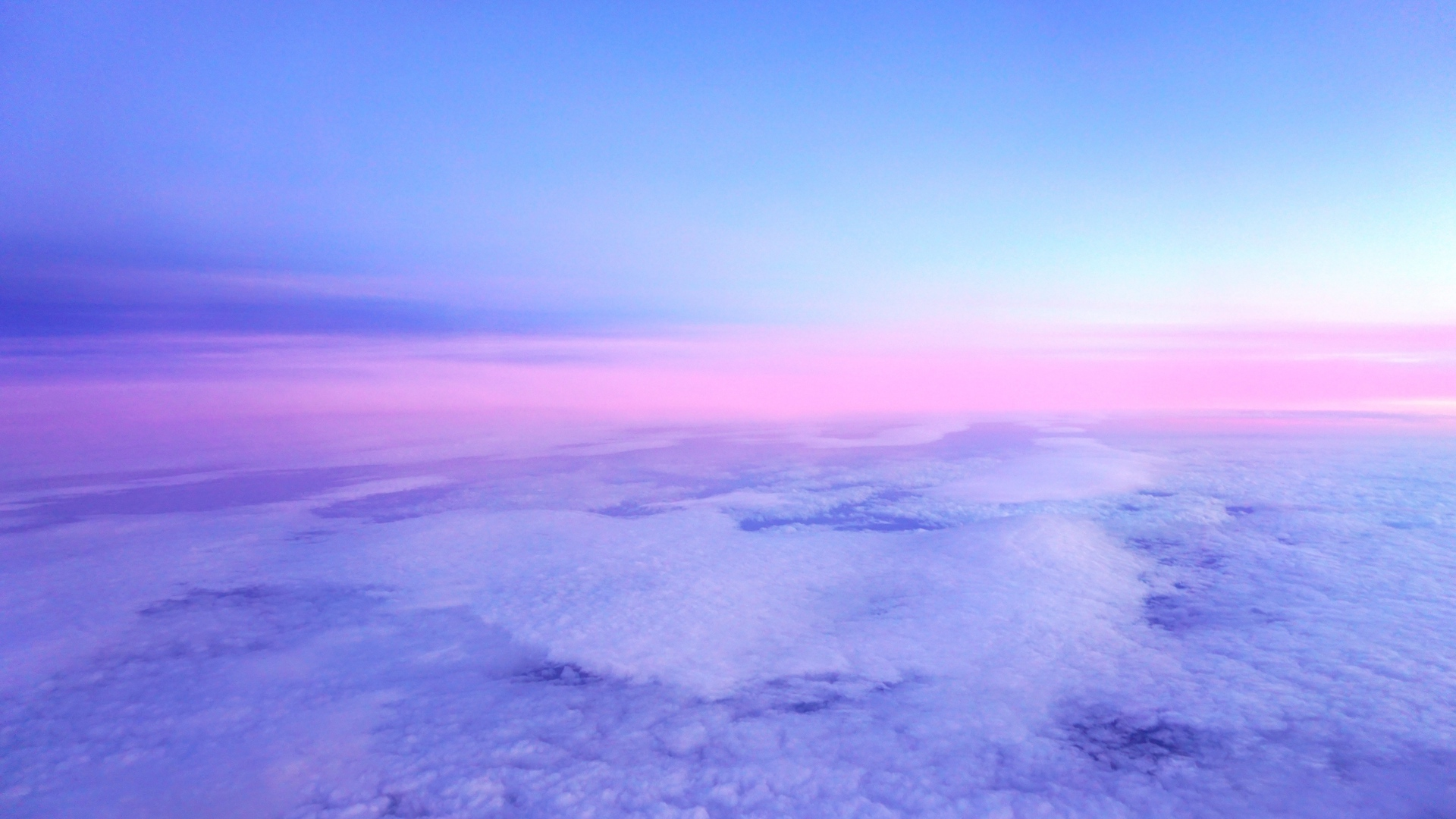 Download wallpaper 1920x1080 clouds porous horizon pink lilac 1920x1080