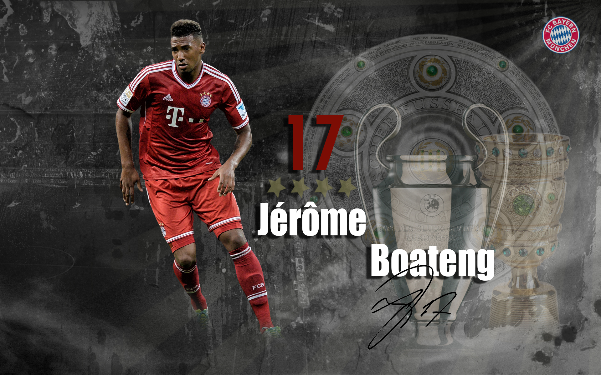 Jerome Boateng Football Wallpaper 1920x1200
