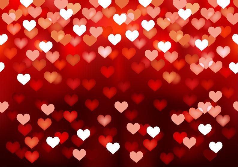 Love Hearts Background - WallpaperSafari