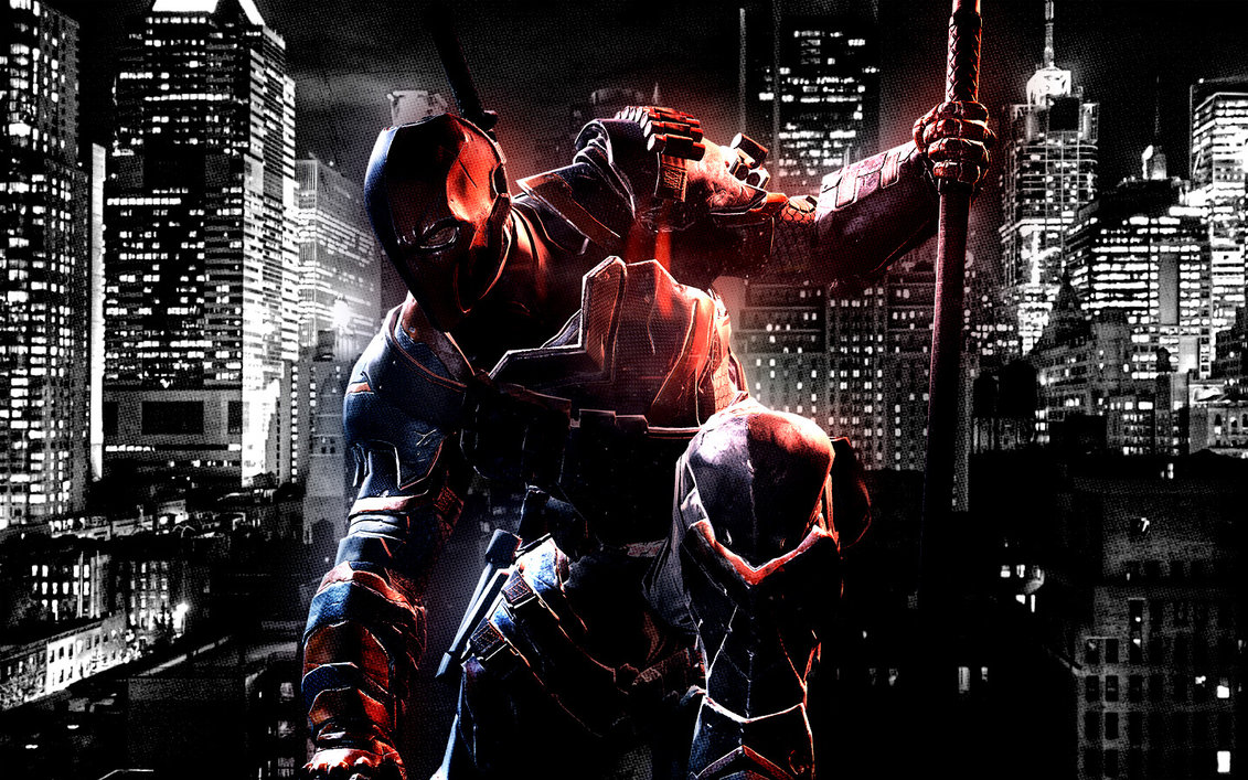 Deathstroke Wallpaper by Franky4FingersX2 1131x707