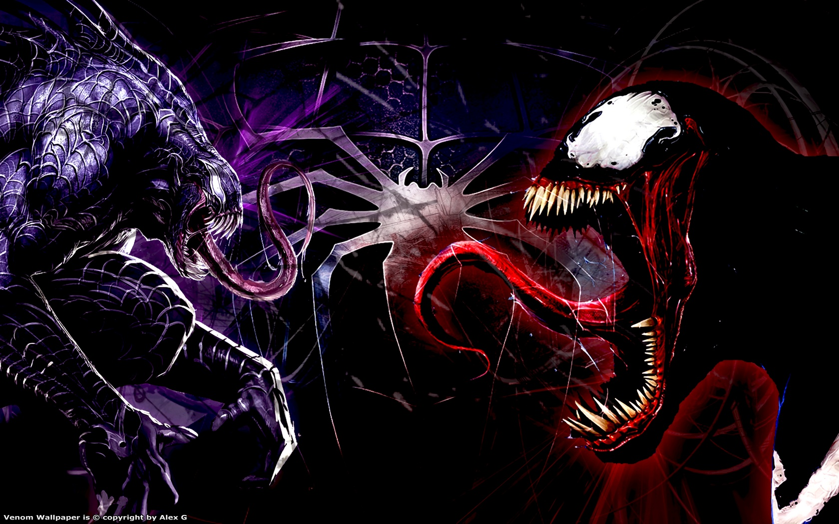 Wallpaper HD Spiderman Venom Carnage   Taringa 1680x1050
