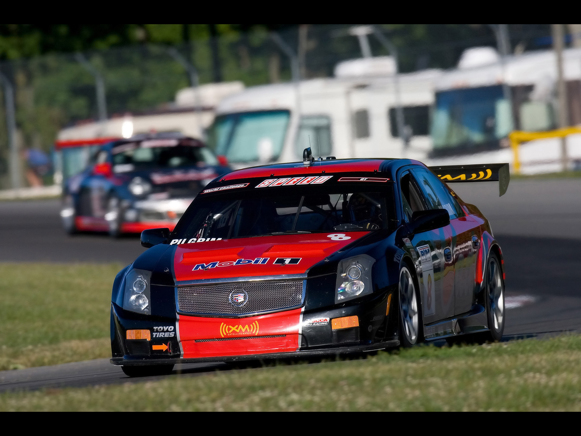 cadillac cts v racing mid ohio sports car course 4 1920x1440 wallpaper 1920x1440