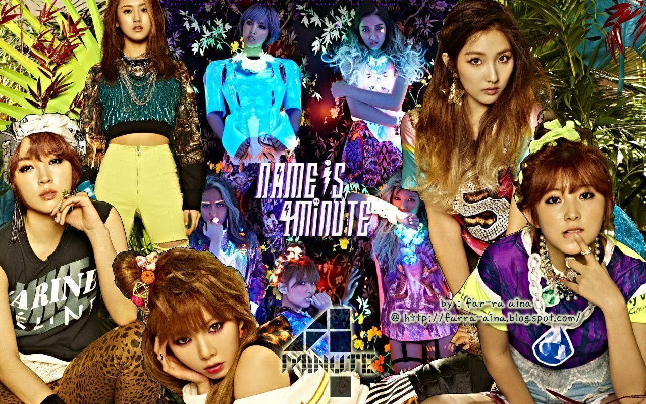 4minute Wallpapers 2015 1280x800