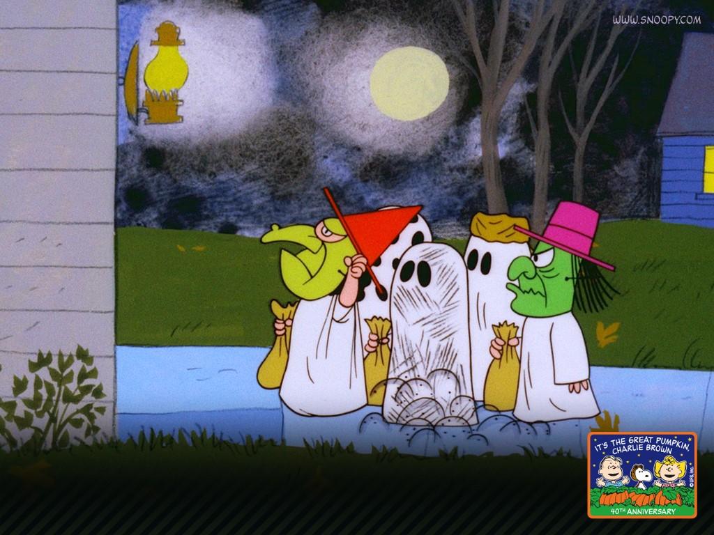 The Great Pumpkin   Peanuts Wallpaper 369924 1024x768