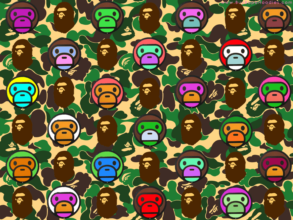 Wallpaper Iphone Bape Download Wallpaper DaWallpaperz 1024x768