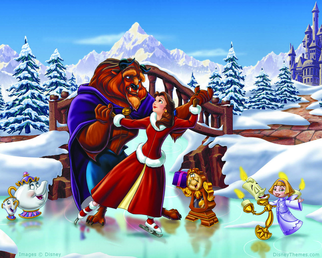 Disney Cartoon Christmas Pictures 1280x1024