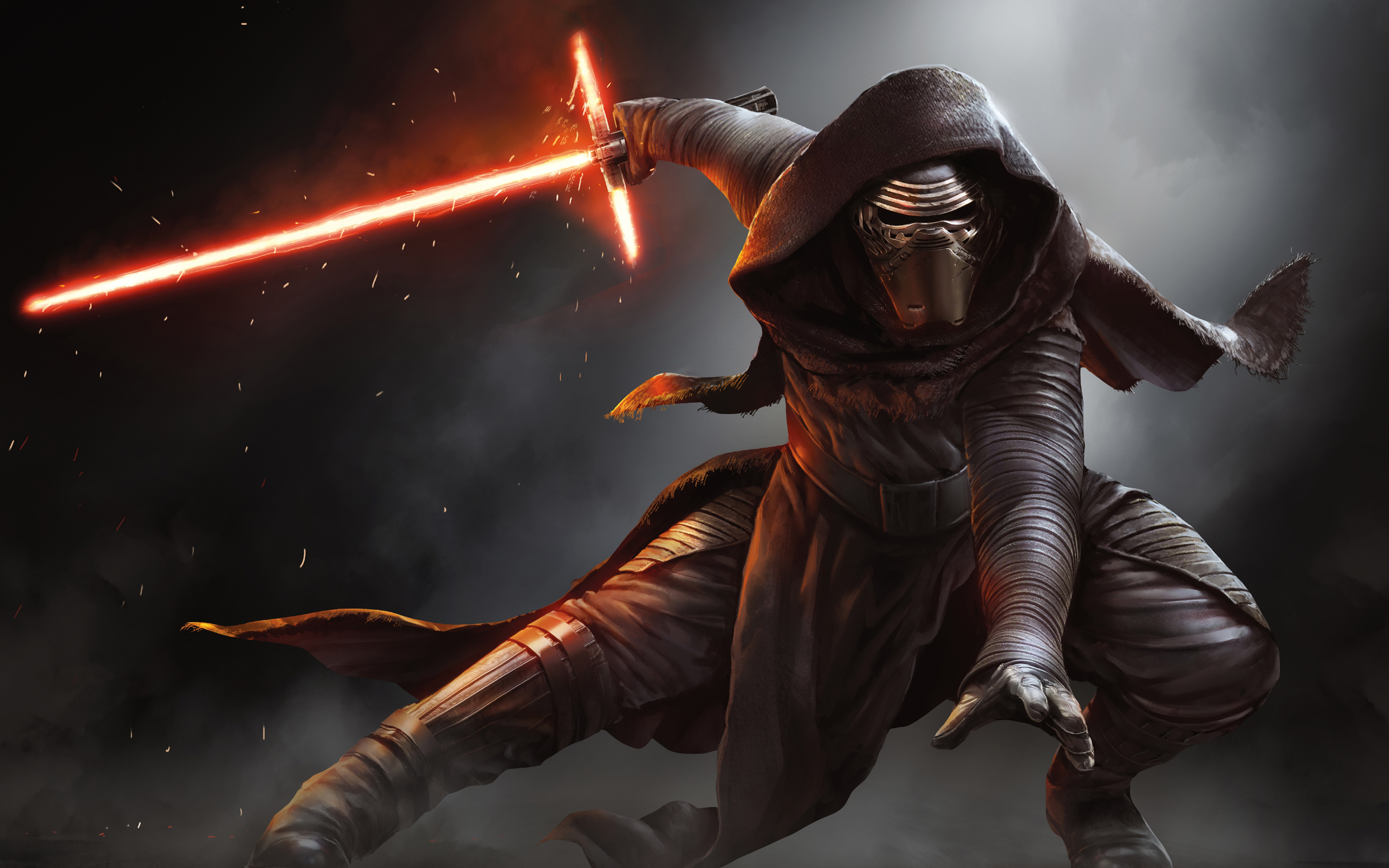 Kylo Ren Star Wars Wallpapers HD Wallpapers 2880x1800