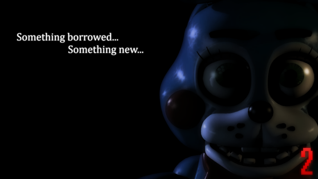 Five Nights At Freddys 2   Toy Bonnie by Ayaxz Majora 1024x576