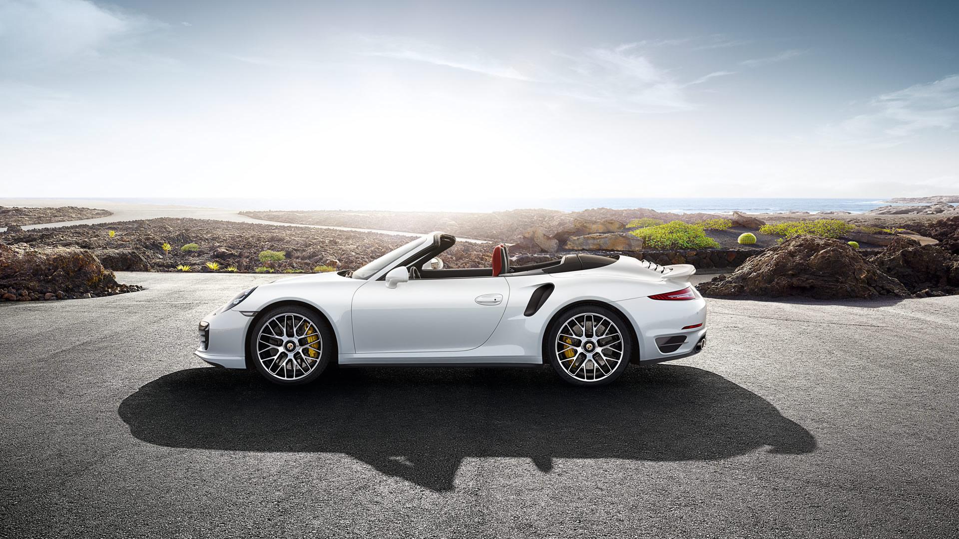 2014 Porsche 911 Turbo S Cabriolet Wallpaper   1920 x 1080 side 1920x1080