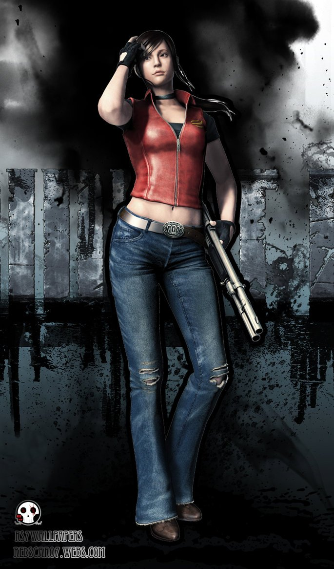 Claire Redfield RER by RedScar07 685x1165