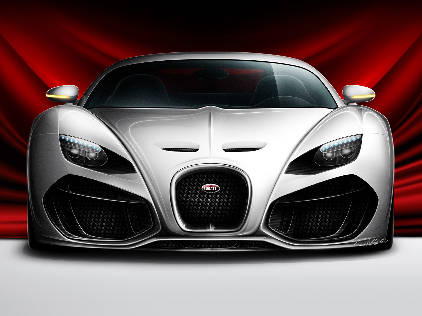 Cars HD Wallpapers Bugatti Venom Concept Car HD Wall 1600x1200