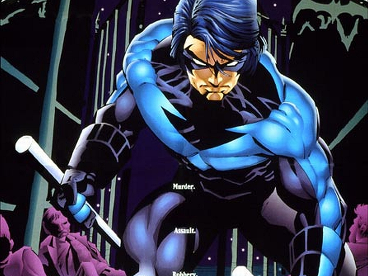 Nightwing Wallpaper Iphone Comics   nightwing wallpaper 1280x959