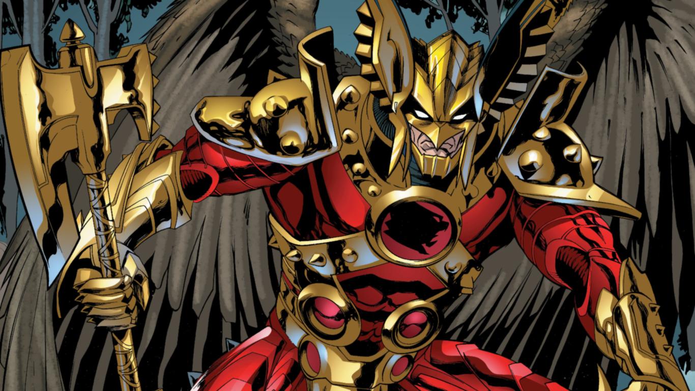 Savage Hawkman Wallpaper 1366x768