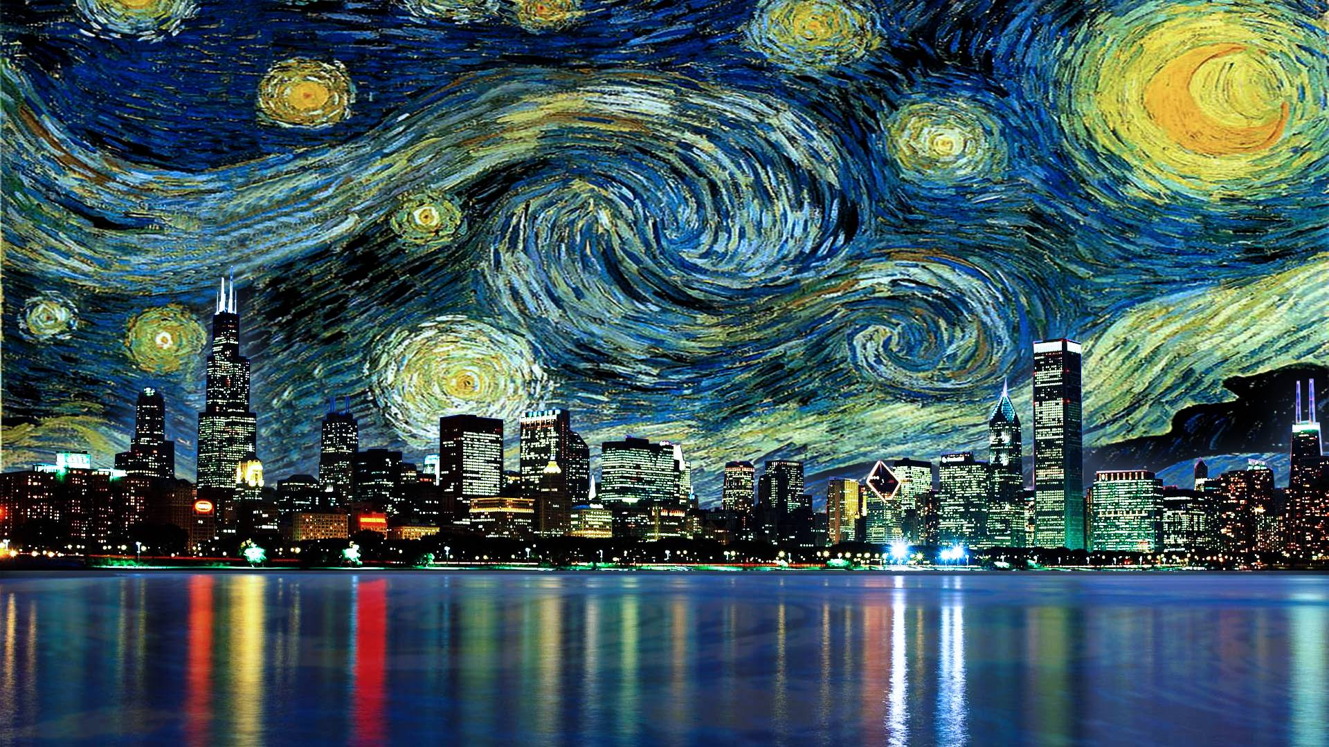 """The Starry Night"""" and Tributes : Atomic Toasters"""